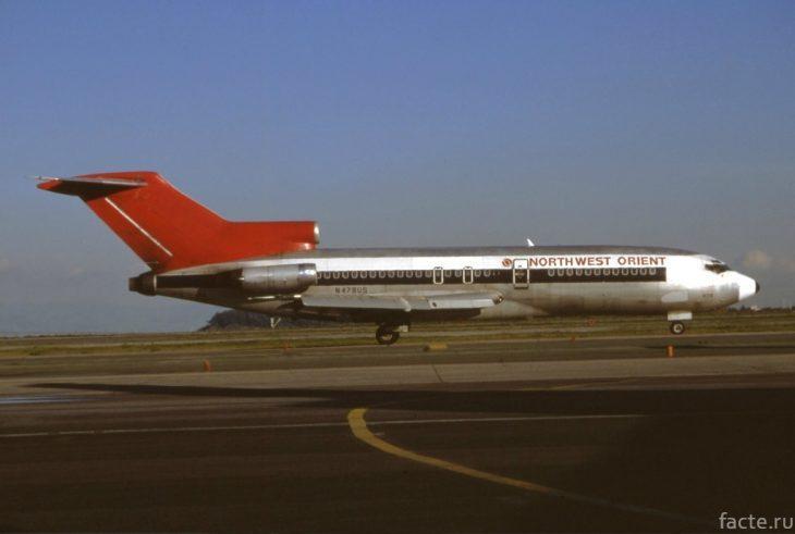 Boeing 727, аналогичный захваченному
