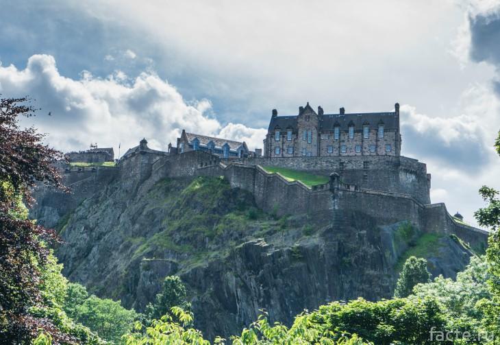 Эдинбургский замок с привидениями