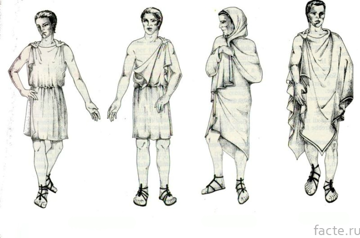 Хитоны и хламида