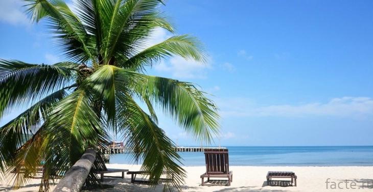 Камбоджийский пляж