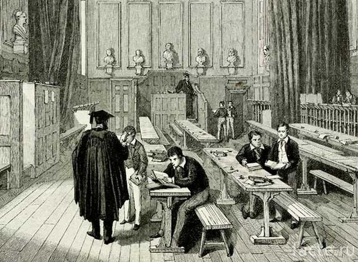 Обучение в XIX веке