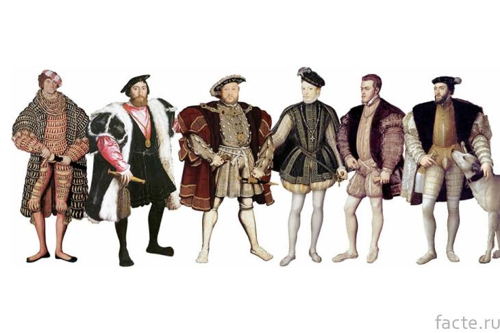 Одежда Ренессанса