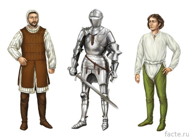 Одежда рыцаря