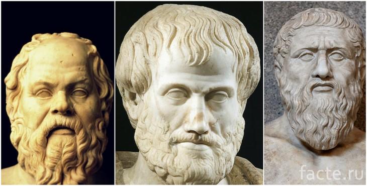 Платон, Аристотель и Сократ