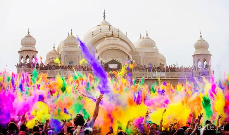 Холи в Индии