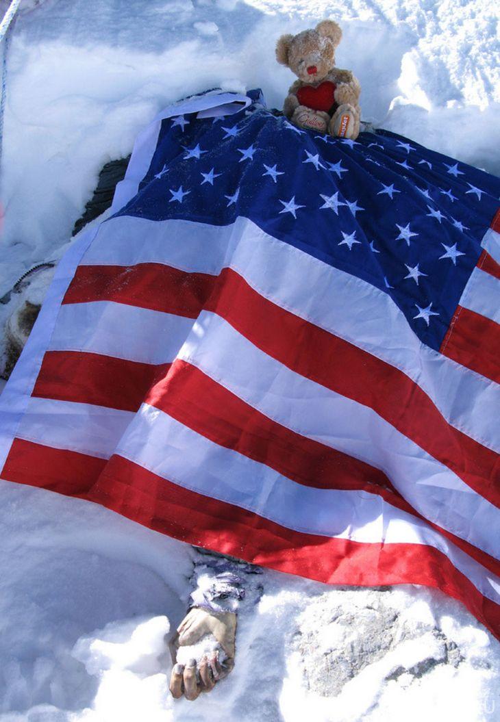 Американская альпинистка