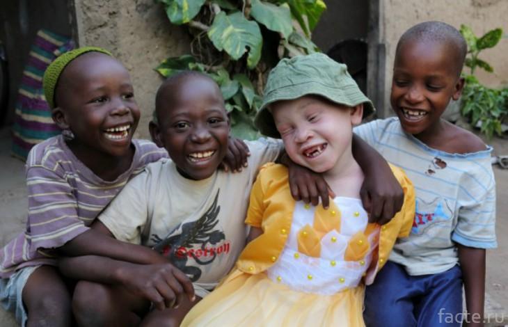Дети Танзании