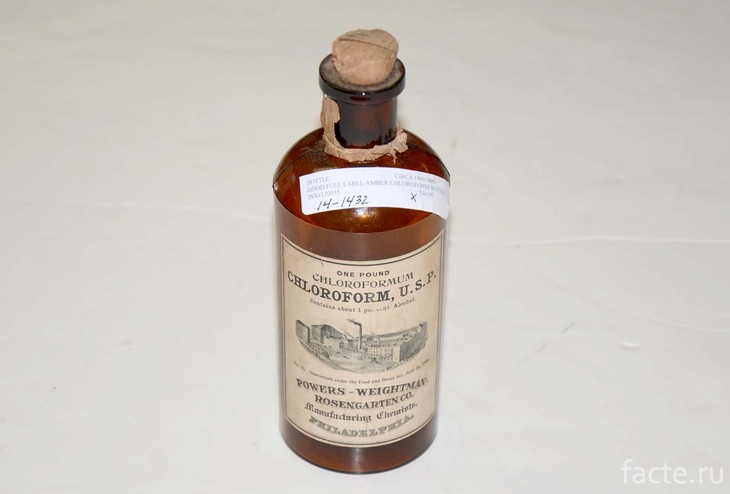Хлороформ из XIX века