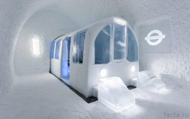 Ледяной отель Швеция