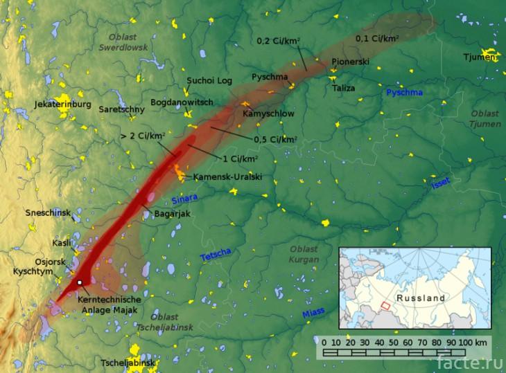 Карта заражения