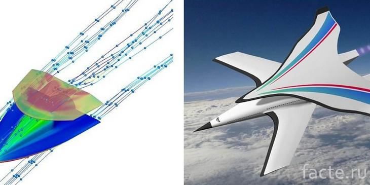 Гиперзвуковой самолет доставит пассажиров из Пекина в Нью-Йорк за 2 часа
