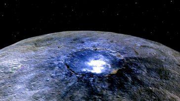 На поверхности Цереры найден лед