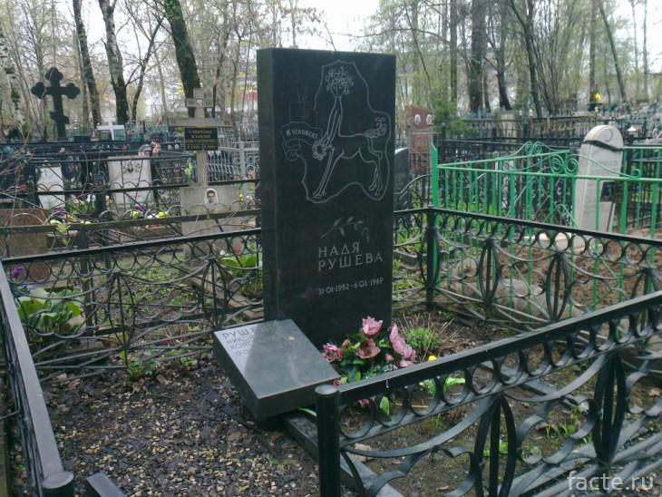 Могила Рушевой