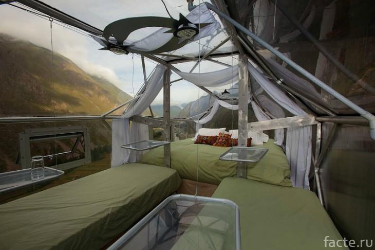 Перу отель над пропастью