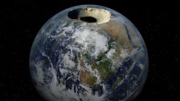Земля полая, и в ней кто-то живет?