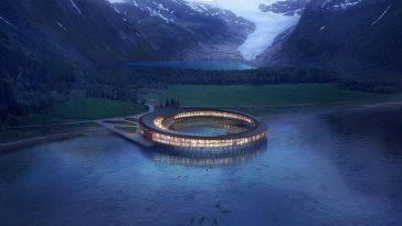 Суперэкологичный отель появится в Норвегии