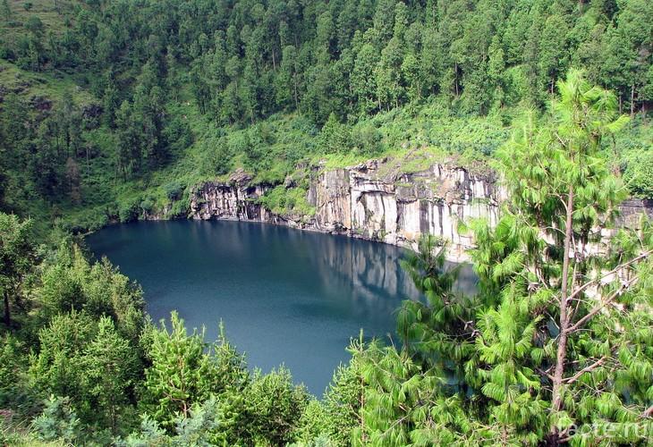 Удивительные кратерные озера
