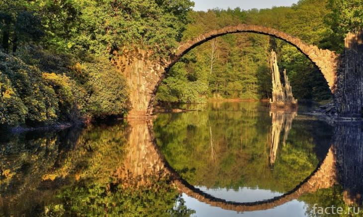 Залитый солнцем мост