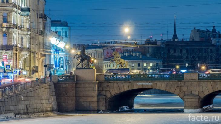 Аничков мост Спб
