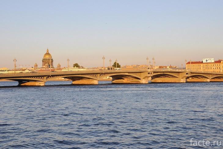 Благовещенский мост СПб