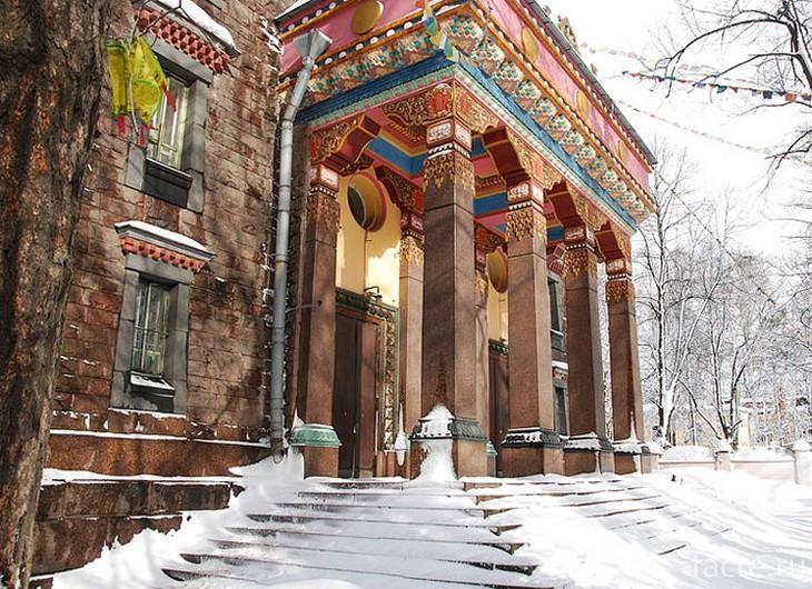 Дацан Гунзэчойнэй зимой