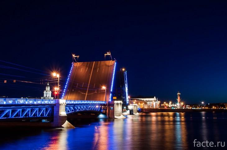 Дворцовый мост СПб