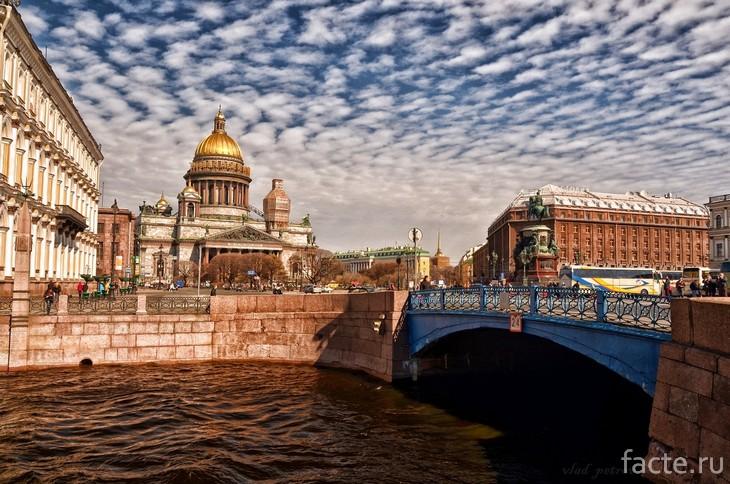Синий мост Спб