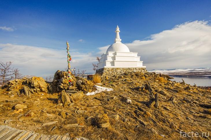 Ступа просветления Байкал