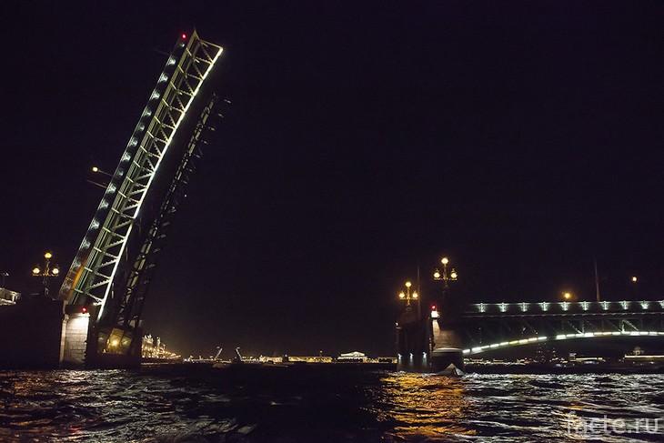 Троицкий мост Питер