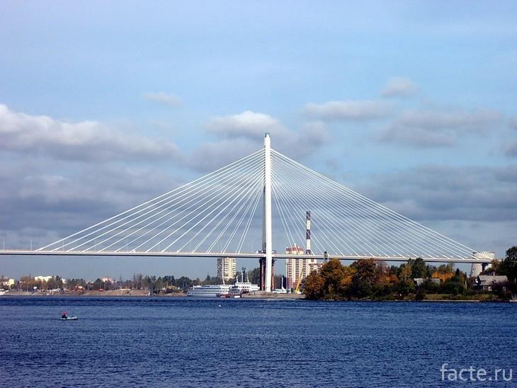 Большой Обуховский мост днём