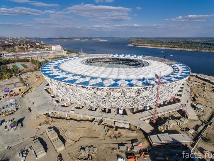 Волгоград Арена строительство