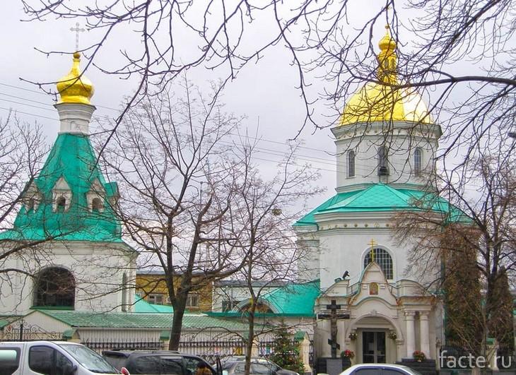 Свято-Ильинская церковь Киев