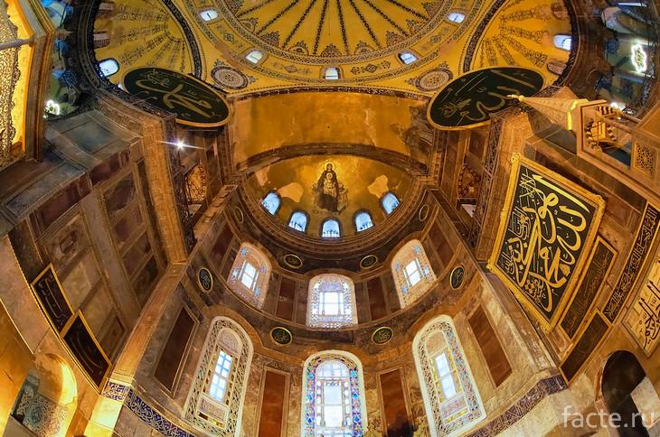 Собор Святой Софии внутри