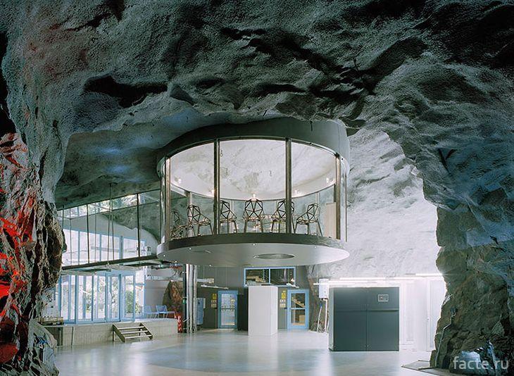Офис в скале