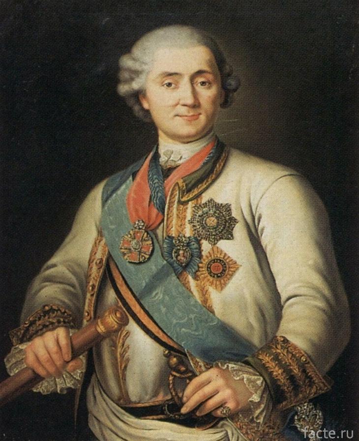 Граф А.Г. Орлов-Чесменский