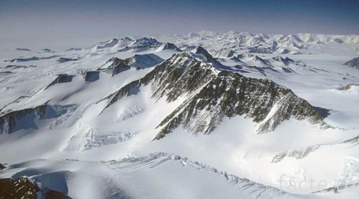 Горные хребты Антарктиды