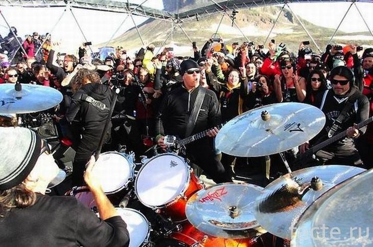 Рок группа Металлика