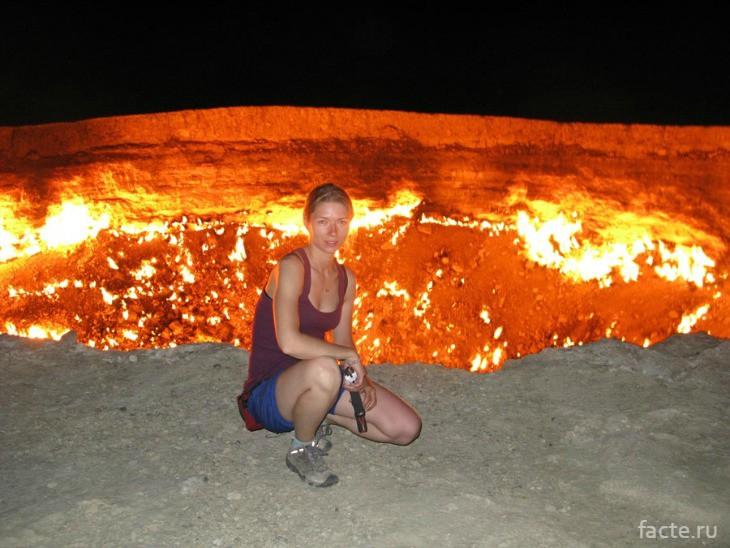 Дарваза - врата ада
