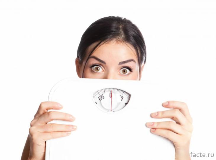 весы и девушка