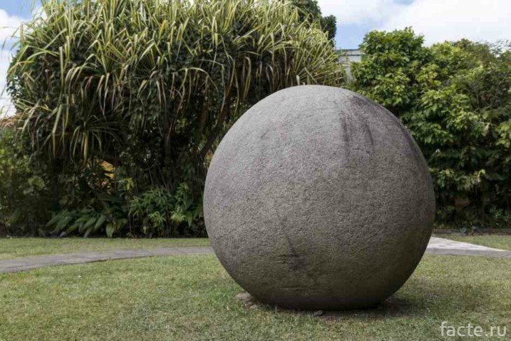 Каменный шар