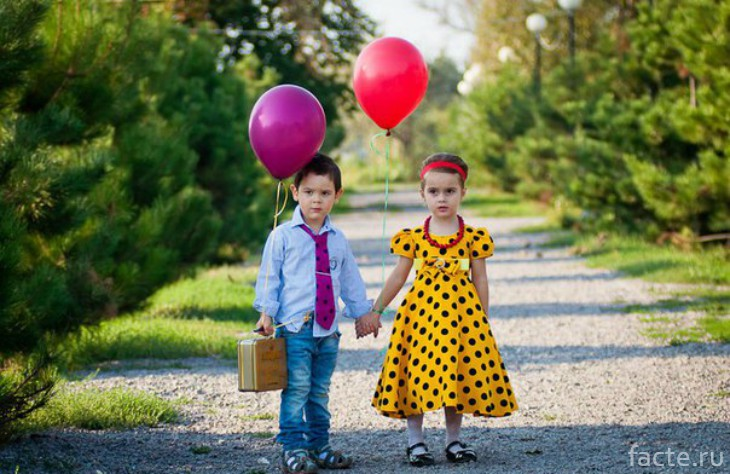 мальчик и девочка