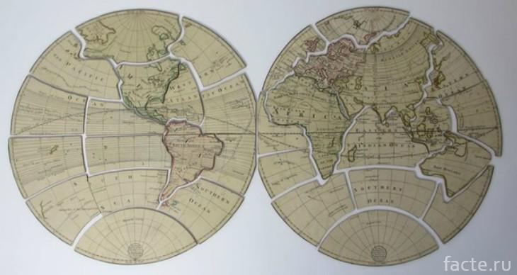 Пазл карта