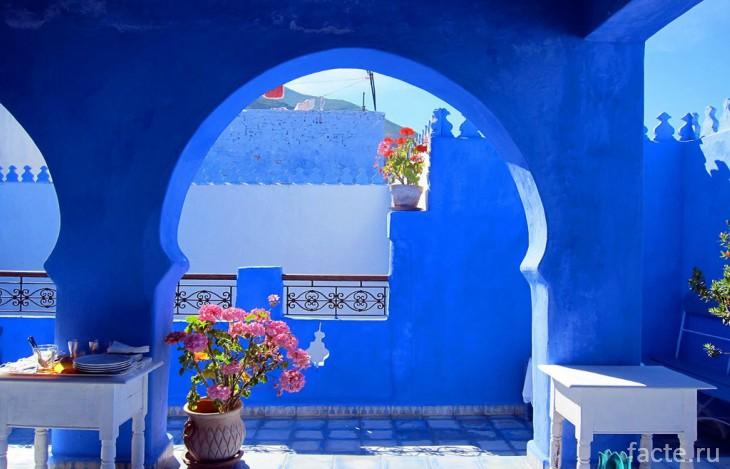 Самый синий город