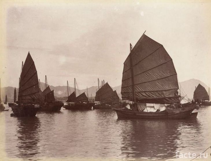 Китайские торговые суда