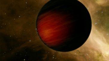 Самая темная планета