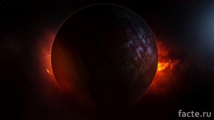 Черная планета TrES-2b