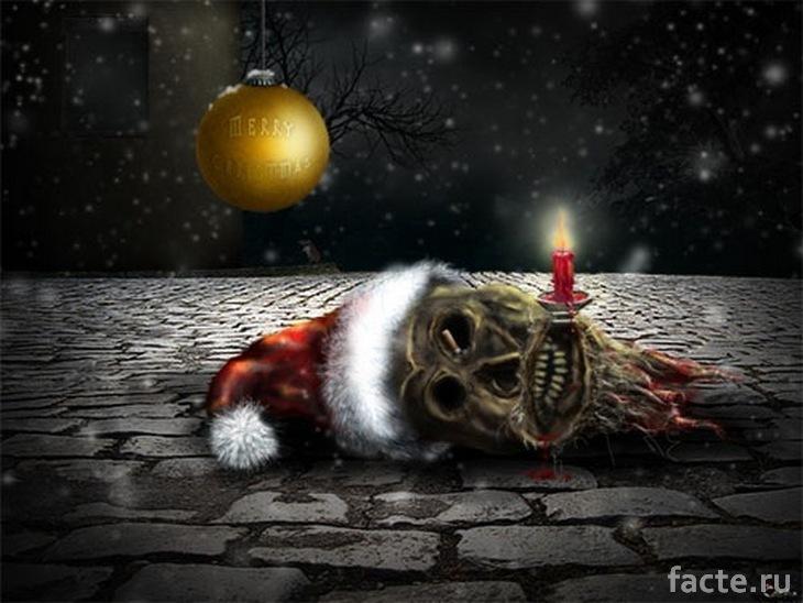 Рождество тоже может быть пугающим!