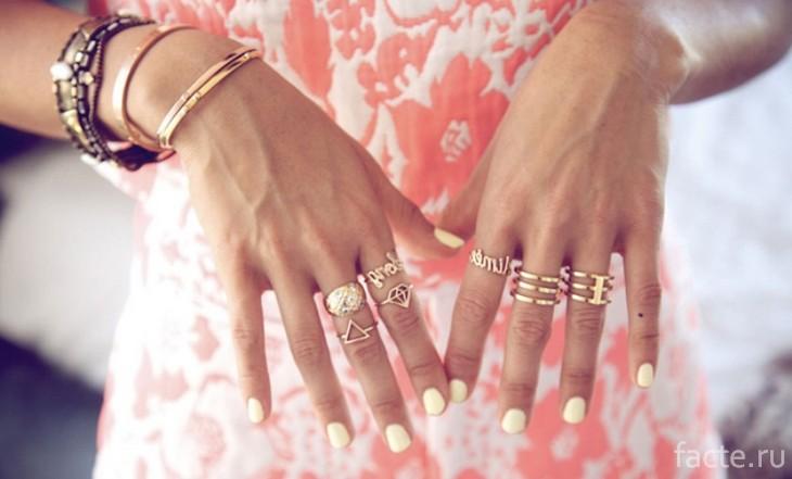 Золото и розовый цвет