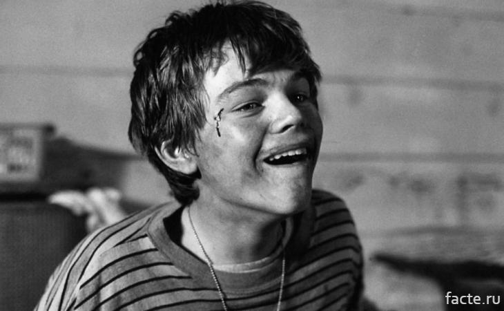 Леонардо Ди Каприо в молодости