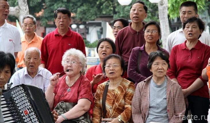 Пенсионеры Китая